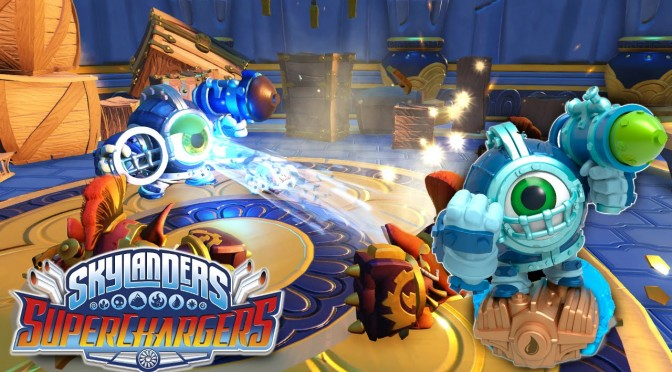 Skylanders SuperChargers – Dive-Clops Official Reveal