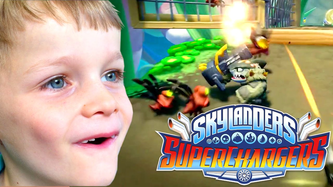Skylanders SuperChargers – Is It Awesome?