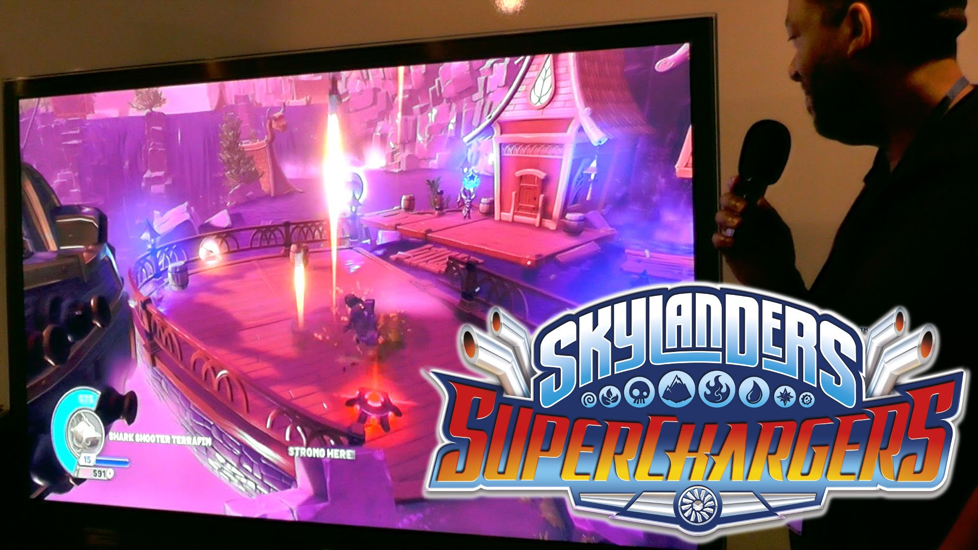 "Skylanders SuperChargers – Let's Play ""Cloud Breather Dragon"""