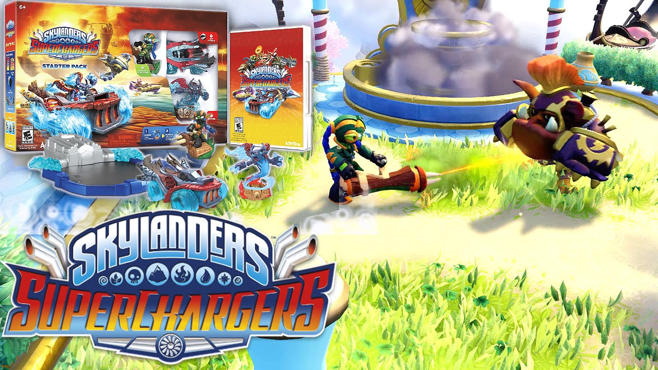 Skylanders SuperChargers Starter Pack vs. Portal Owners Pack Review