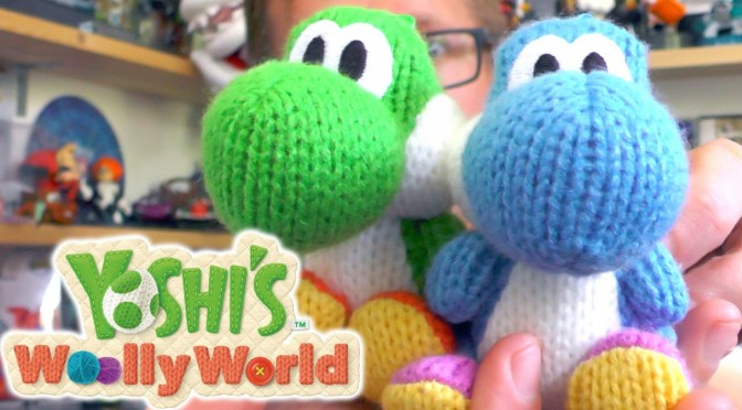 Woolly Yoshi Amiibo Unboxing and Competition