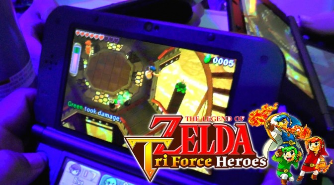 Zelda Tri Force Heroes – Hands On Game-Play