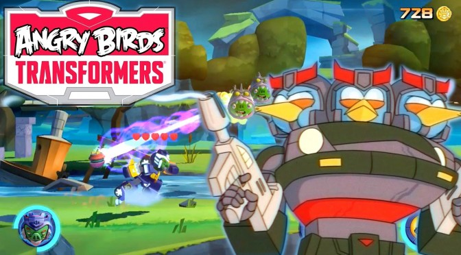 Angry Birds Transformers – Energonicons, Crafting, Bluestreak & Prowl [v1.6.11]