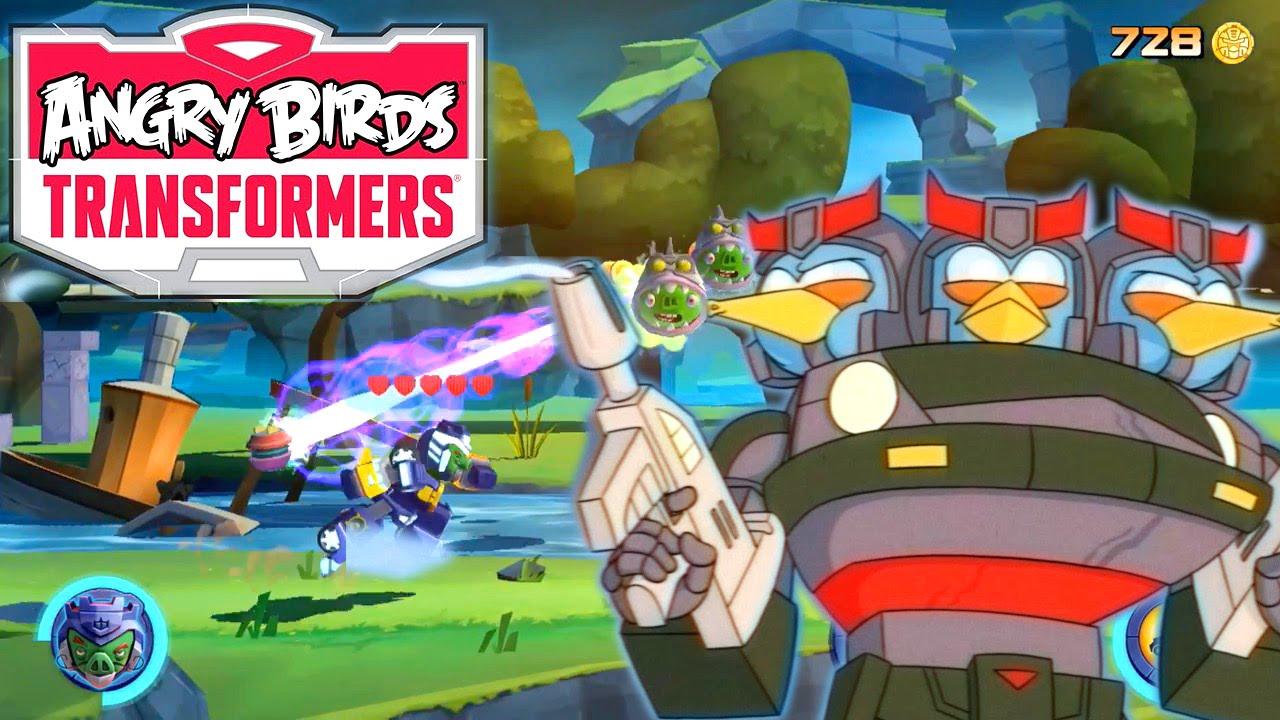 Angry Birds Transformers – Energonicons, Crafting, Bluestreak & Prowl [v1.6.11]