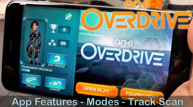 Anki Overdrive – First Look New App Modes, Track Scanning