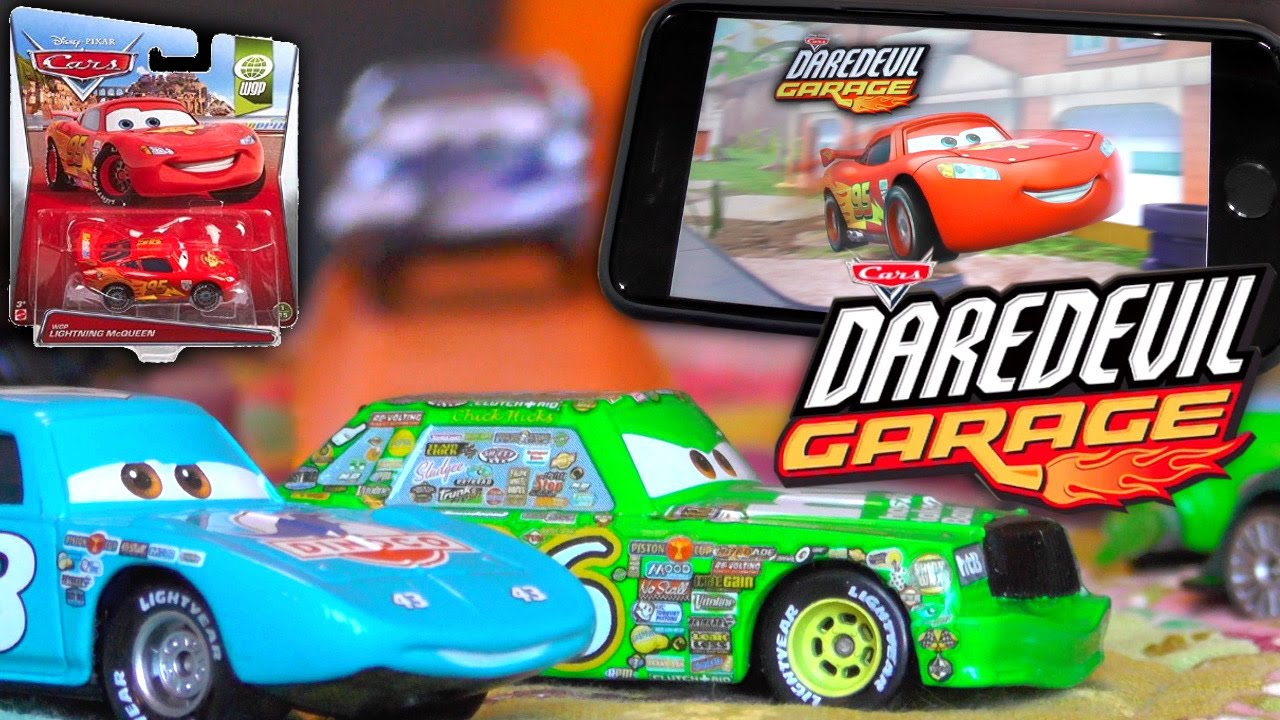 Cars Daredevil Garage – Disney's Diecast Toys to Life Video-Game