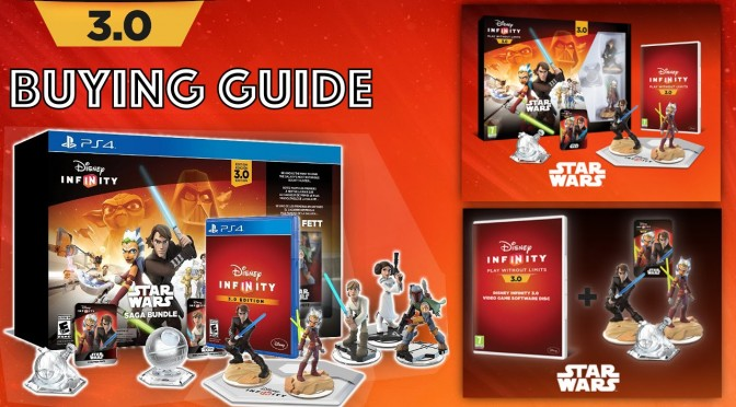 Disney Infinity 3.0 – Release Date, Digital/Disc Version, Star Wars Saga Pack
