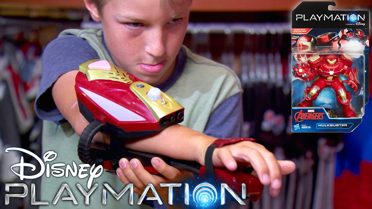 Disney's Playmation – Avengers Wave 1, iOS App, Game-Play, Every Super Hero