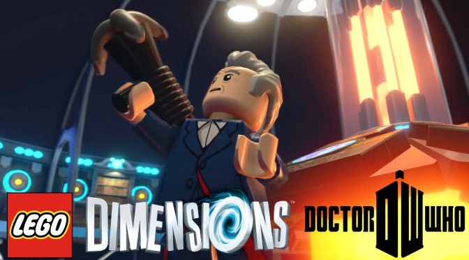 Lego Dimensions Doctor Who – Every Doctor, Daleks, Tardis, Cybermen