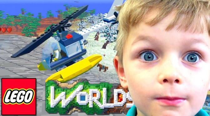LEGO Worlds vs. Minecraft vs. Terraria – Is It Awesome?