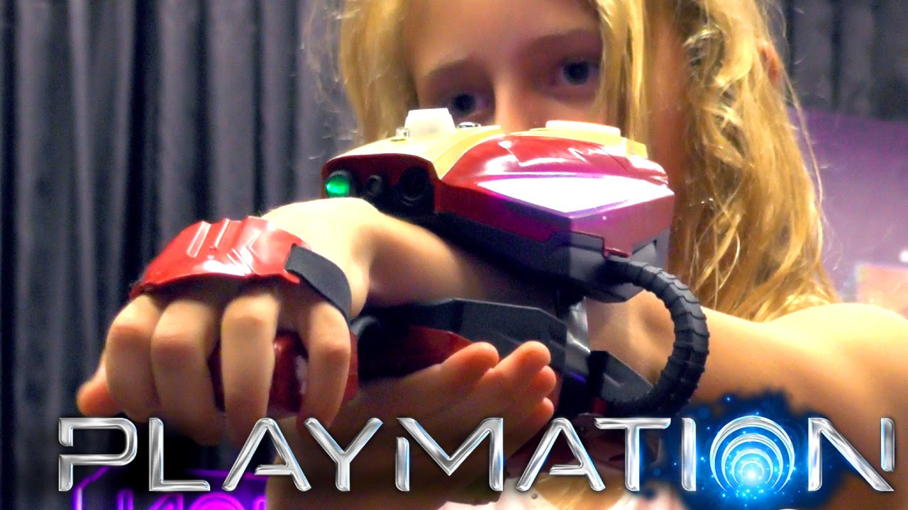 Let's Play Playmation (Avengers) – Disney's Live Action Toys to Life