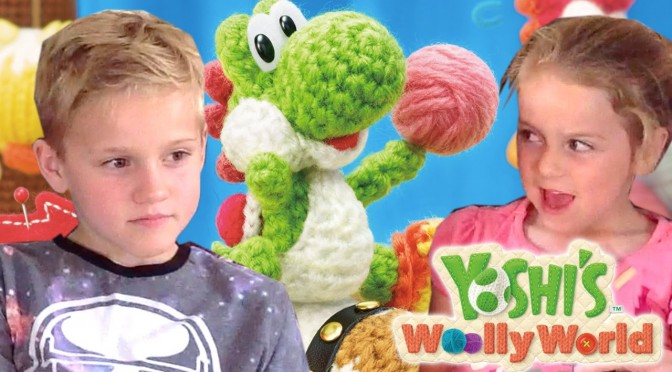 Let's Play Yoshi's Woolly World – w/ Yoshi Amiibo Song