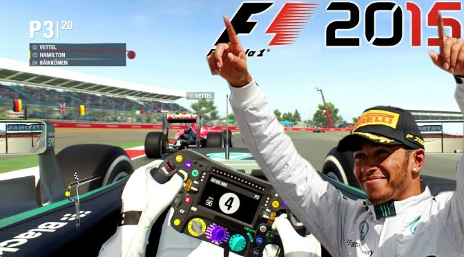 Let's Play F1 2015 – Silverstone with Hamilton [PC Capture HD-1080p]