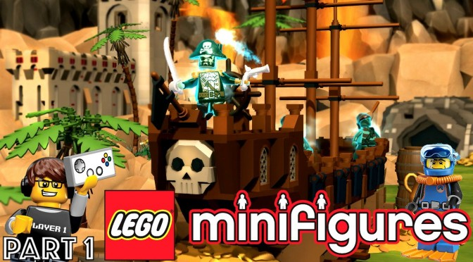 Let's Play Lego Minifigures Online Part 1 – Pack Opening