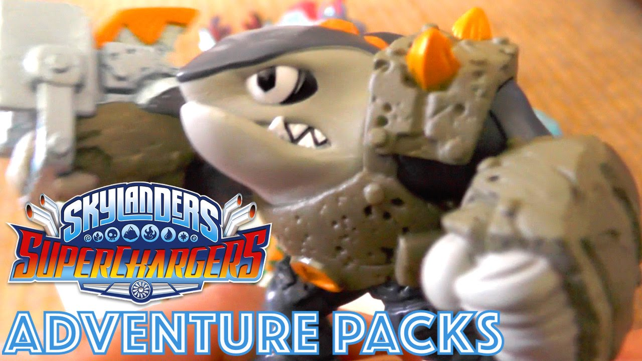 Skylanders SuperChargers CEO – Adventure Packs, Traps, Portal Compatibility, Gender, Toy Design