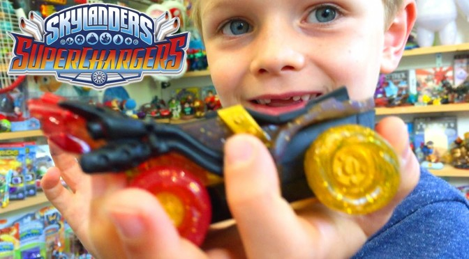 Skylanders SuperChargers E3 Hot Streak – Is It Awesome & Comp