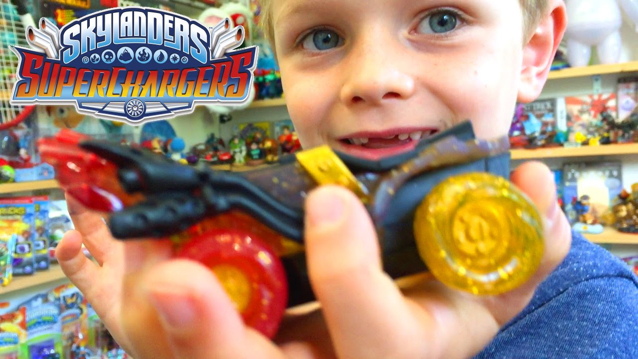 Skylanders SuperChargers E3 Hot Streak – Is It Awesome & Comp