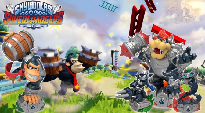 Skylanders SuperChargers Let's Play 13 Minutes of Dark Edition