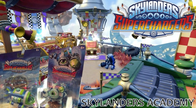 All SuperChargers – Smash Hit, High Volt, Academy Game-Play and Packaging