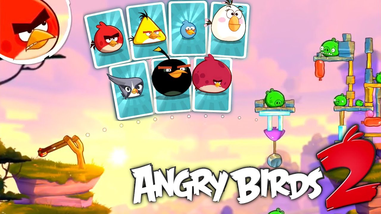 Angry Birds 2 Game-Play – No Longer Under Pigstruction