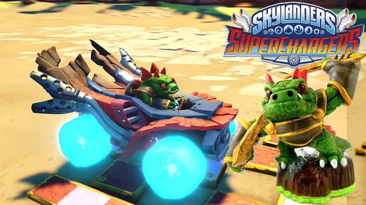 Dino-Rang in SuperChargers Racing –  Hot Streak on Dragon Spine