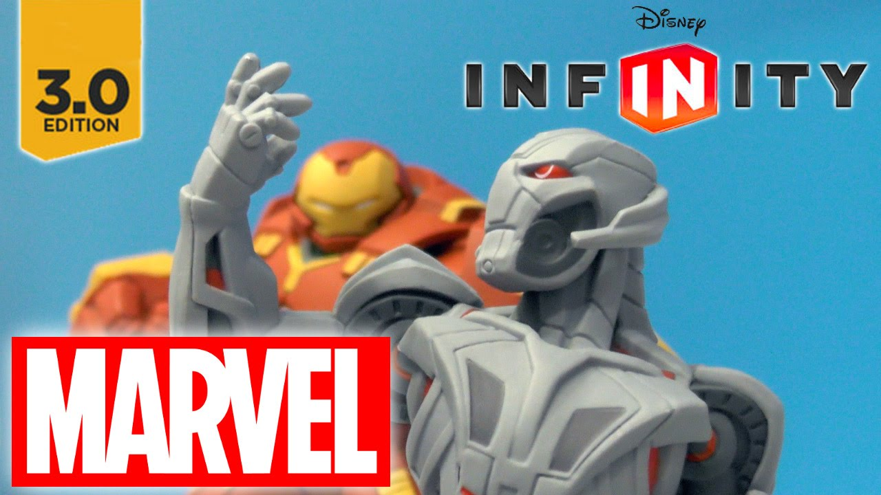 Disney Infinity Hulkbuster & Ultron Game-Play & Fully Upgraded Trees