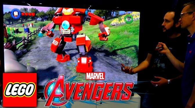 LEGO Marvel's Avengers Game-Play – Barton Farm, HulkBuster, StanBuster