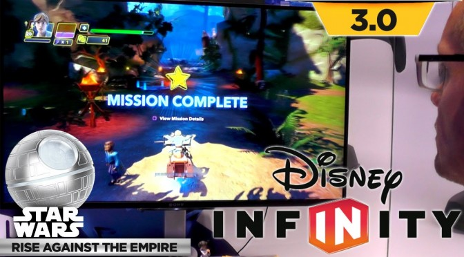 Let's Play Disney Infinity Rise Against the Empire – Endor Speeder Bike Rescue