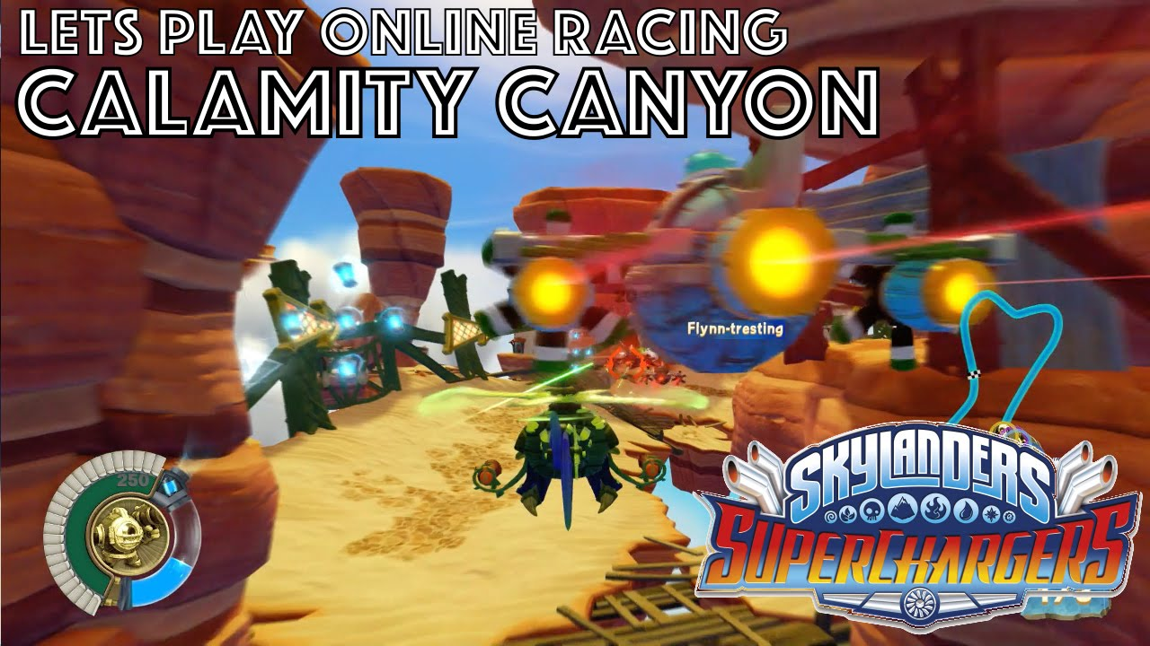 Let's Play Skylanders Kart Racing – Calamity Canyon Game-Play