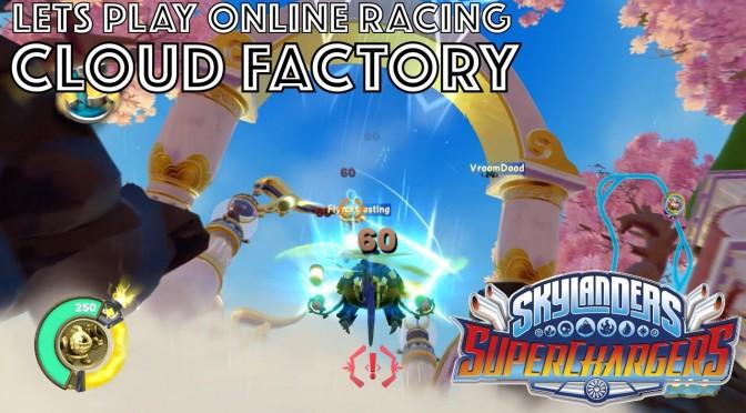 Let's Play Skylanders Kart Racing – Cloud Factory Game-Play