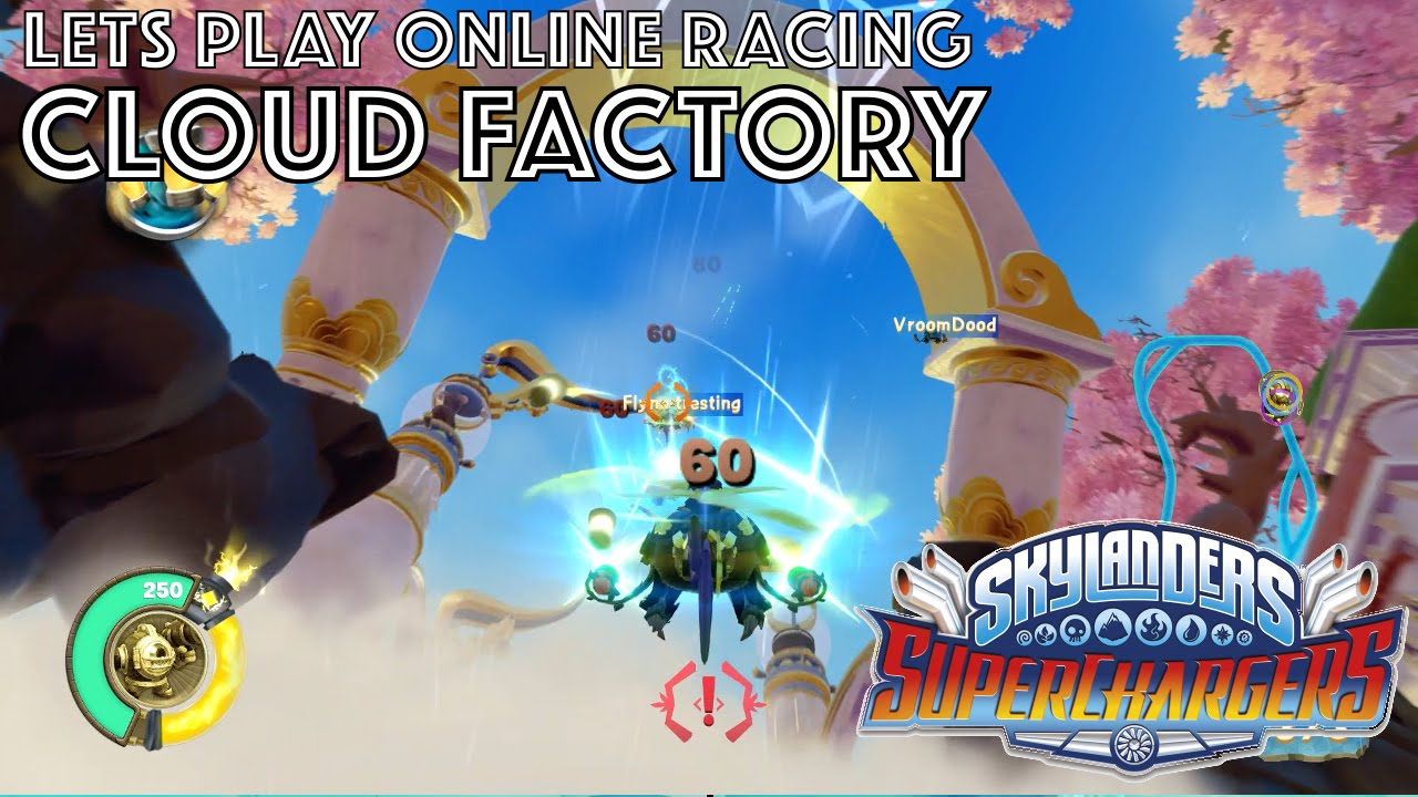 Let's Play Skylanders Kart Racing – Cloud Factory Game-Play