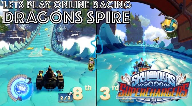 Let's Play Skylanders Kart Racing – Dragon Spire Game-Play