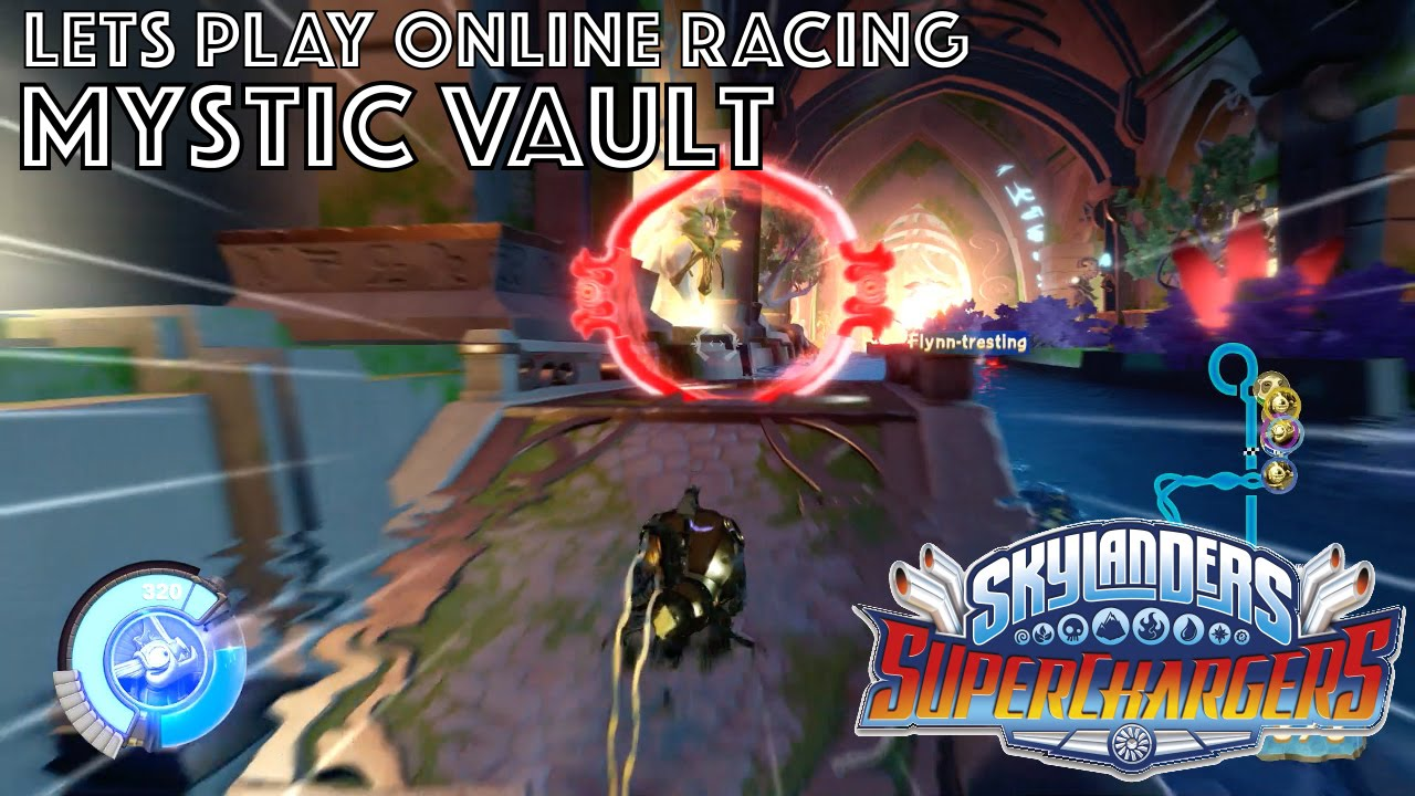 Let's Play Skylanders Kart Racing – Mystic Vault Game-Play
