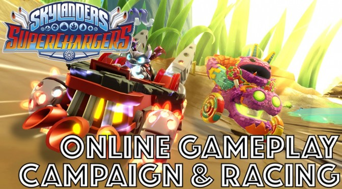 Skylanders Online Co-Op & Racing Game-Play (w/ Shark Tank & Sea Shadow)