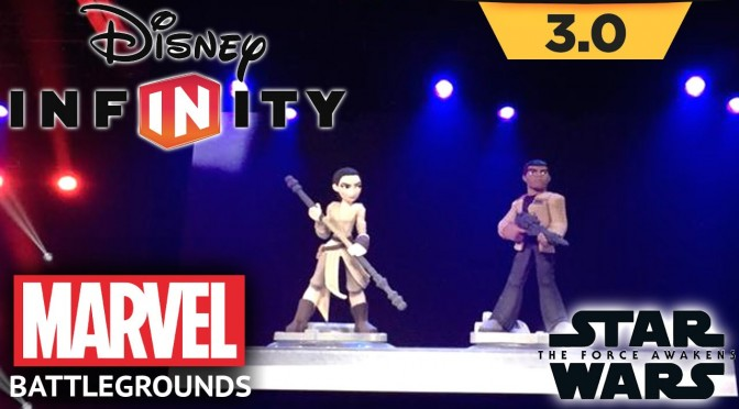 Disney Infinity News! The Force Awakens Finn & Rey, Marvel Battlegrounds, Good Dinosaur, Zootopia