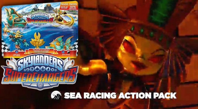 Skylanders Sea Action Pack – Golden Queen, Tropic Plunder, The Golden Temple