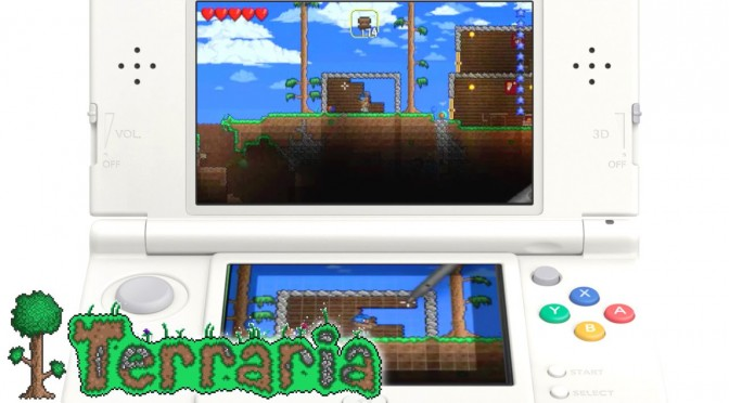 Terraria 3DS – Game-Play on New 3DS