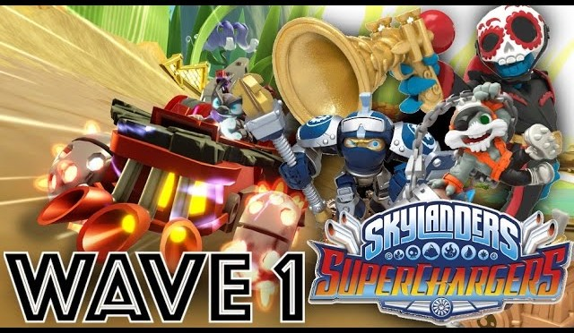 Wave 1 Skylanders SuperChargers – Every Character & Vehicle