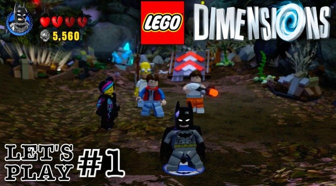 Lego Dimensions First 30 Minutes Lets Play 1 Hd 1080 Family