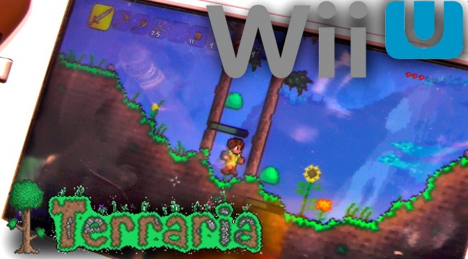 Terraria Wii U – 8 Minutes Game-Play