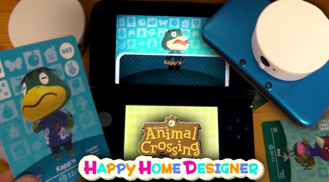 How To Use Amiibo Cards in Animal Crossing Happy Home Designer