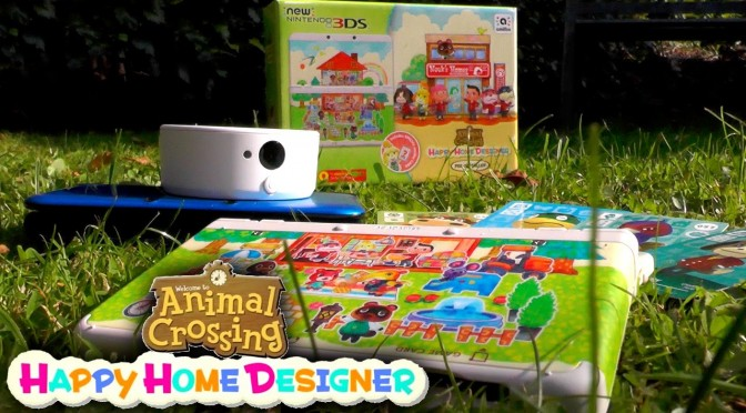Animal Crossing Happy Home Designer 3DS Unboxing & Amiibo Card How To Guide