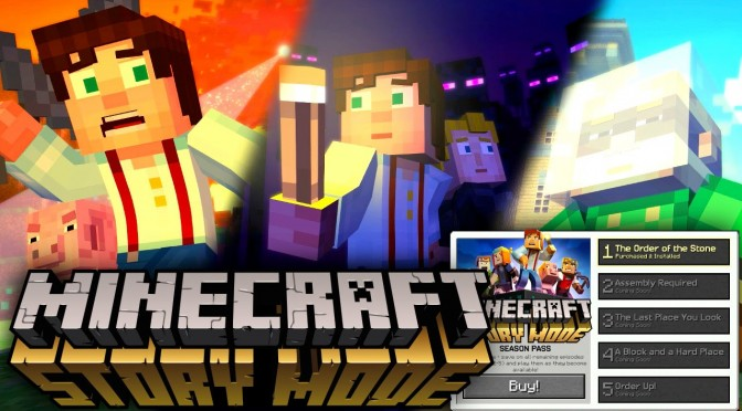 Minecraft Story Mode – Game-Play Interview (Episode 1-5 Titles, Play Roster, Menus)