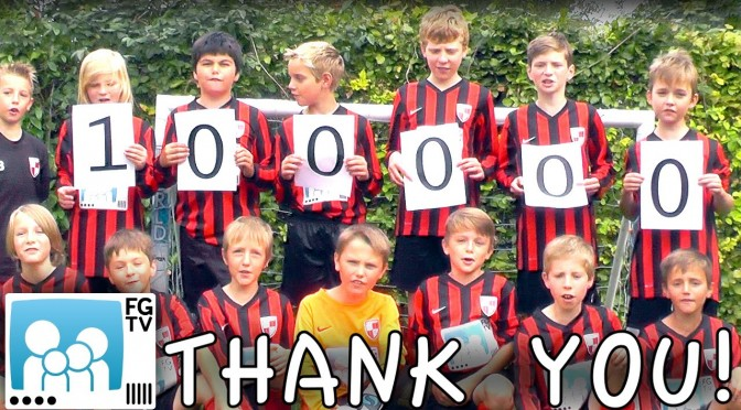 100,000 Subscriber Thank You – 14 Player FIFA 16 Shoot Out Surprise
