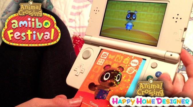 Animal Crossing Happy Home Designer & Amiibo Festival (Part 3)