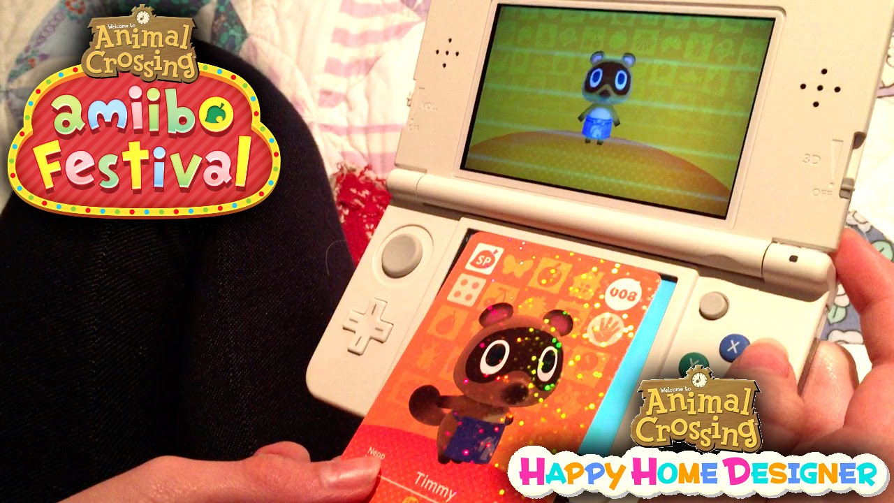 Animal Crossing Happy Home Designer & Amiibo Festival (Part 3)