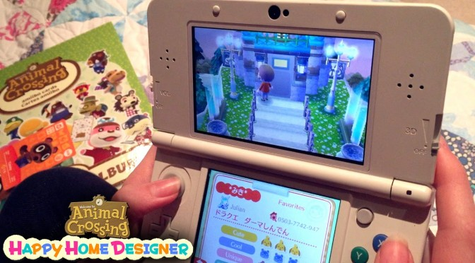 Animal Crossing Happy Home Designer in the family (Part 1)