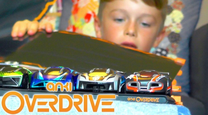 Anki Overdrive – Unboxing, Track Building & Robot Car Testing
