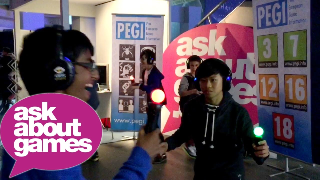 Ask About Games & PEGI at EGX with added Joust