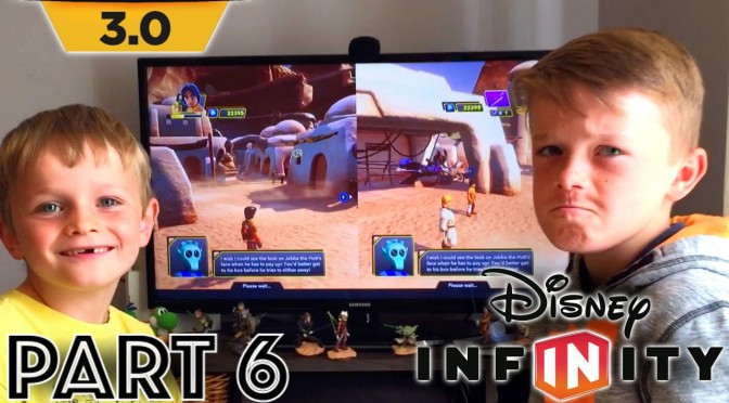 Disney Infinity 3.0 – Part 6: Sarlacc Pit Sick